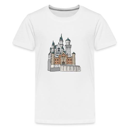 Neuschwanstein Castle, Bavaria - Kids' Premium T-Shirt