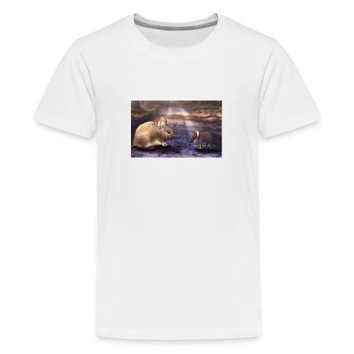 Mouse vs elephant - Kids' Premium T-Shirt
