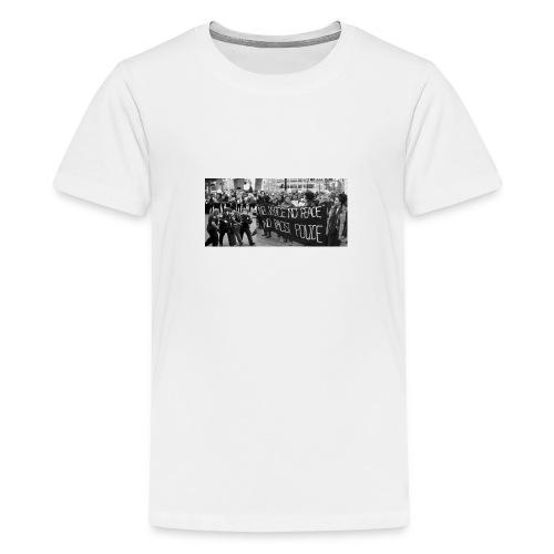 No Racist Cops - Kids' Premium T-Shirt