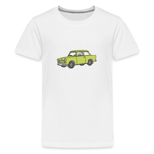 Trabant (baligreen car) - Kids' Premium T-Shirt