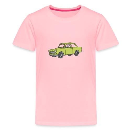 Trabant (baligreen car) - Kids' Premium T-Shirt