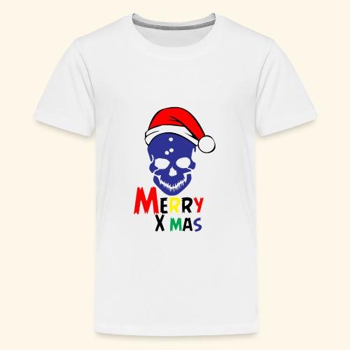 Merry Xmas Skul - Kids' Premium T-Shirt
