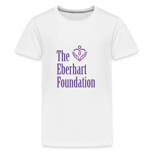 The Eberhart Foundation square logo color - Kids' Premium T-Shirt