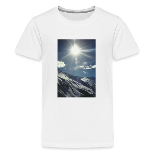 sun snow - Kids' Premium T-Shirt