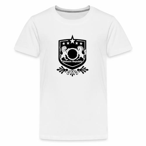 Atheist Republic Logo - Starred Badge - Kids' Premium T-Shirt