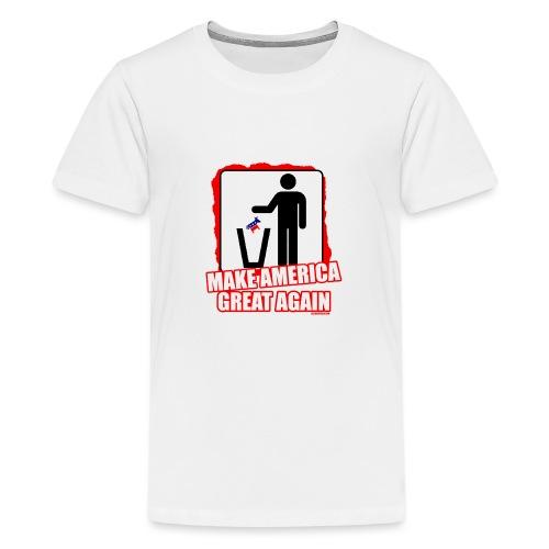 MAGA TRASH DEMS - Kids' Premium T-Shirt