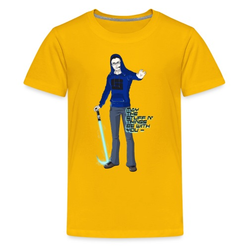 TheJumpingFox for Zoey png - Kids' Premium T-Shirt
