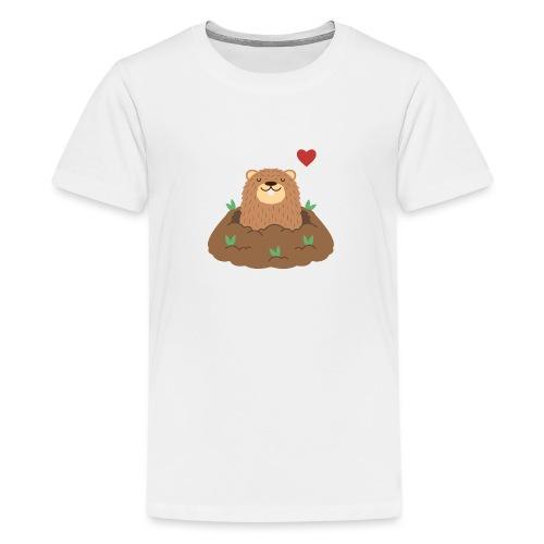 Groundhog Love - Kids' Premium T-Shirt