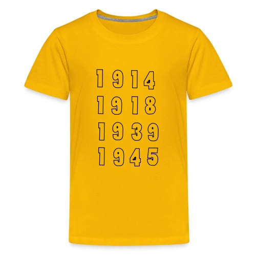 Great War Dates - Kids' Premium T-Shirt