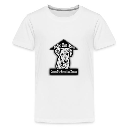 finding them homes logo f - Kids' Premium T-Shirt