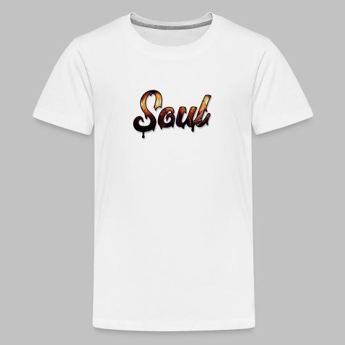 SOUL Apparel Pixel Hell Logo - Kids' Premium T-Shirt