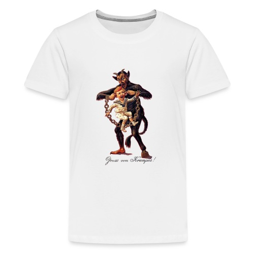 Gruss vom (Greetings From) Krampus - Kids' Premium T-Shirt