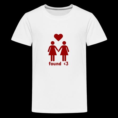Found Love | Female Relationship - Kids' Premium T-Shirt