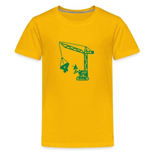 robot 3d - Kids' Premium T-Shirt