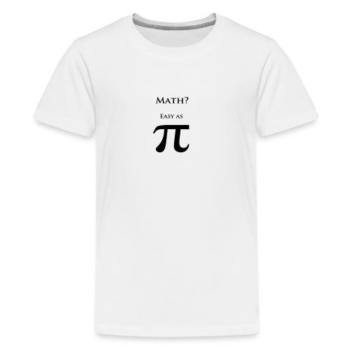 Pi Black - Kids' Premium T-Shirt