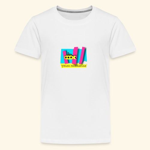 Yellow Submarine-CMKY - Kids' Premium T-Shirt