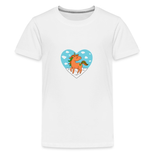 Unicorn Love - Kids' Premium T-Shirt