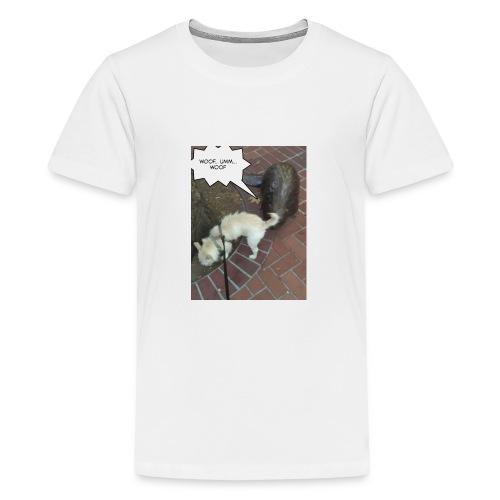 Naughty lil beaver - Kids' Premium T-Shirt