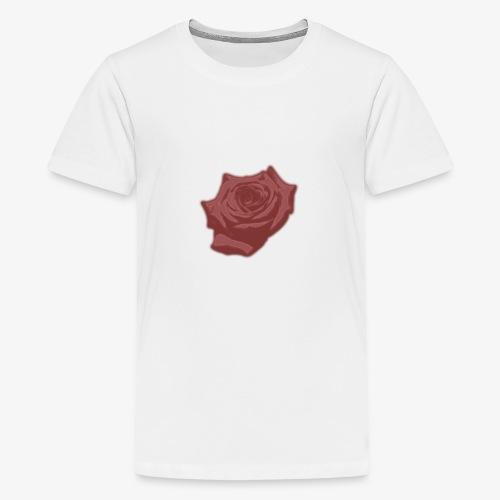 Down Rose Modern - Kids' Premium T-Shirt