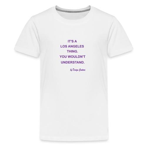 IT S A LOS ANGELES PURPLE - Kids' Premium T-Shirt