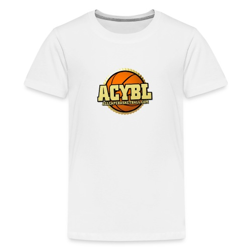 ACYBL ALL CAPE YOUTH BASKETBALL LEAGUE - Kids' Premium T-Shirt