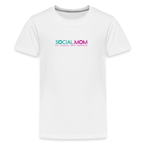 Social.mom logo français - Kids' Premium T-Shirt