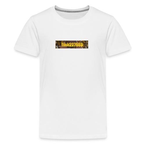 Nick227889 Logo! - Kids' Premium T-Shirt