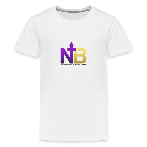 NB short logo png - Kids' Premium T-Shirt