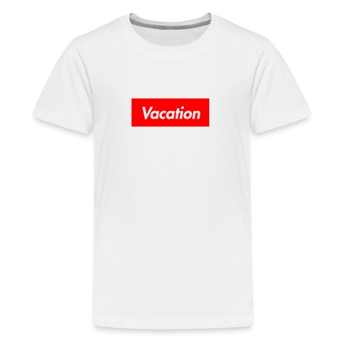 TheVacation (Supreme logo) - Kids' Premium T-Shirt