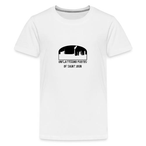 Unflatter SJ Full Logo - Kids' Premium T-Shirt