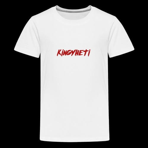 Red KingYheti Logo - Kids' Premium T-Shirt