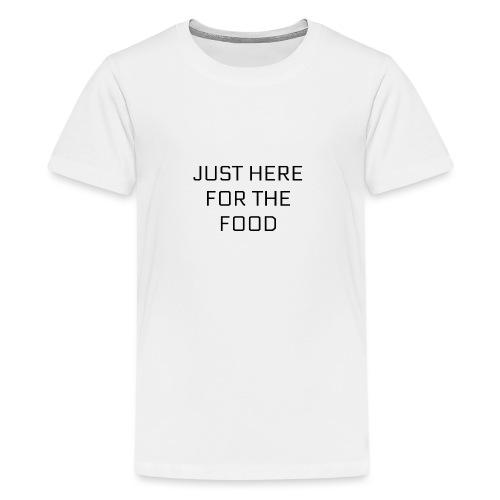 Here For Food - Kids' Premium T-Shirt