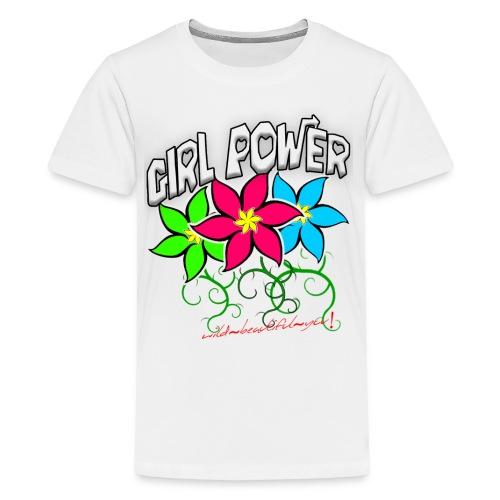 Girl Power: Lotus Flowers - Kids' Premium T-Shirt