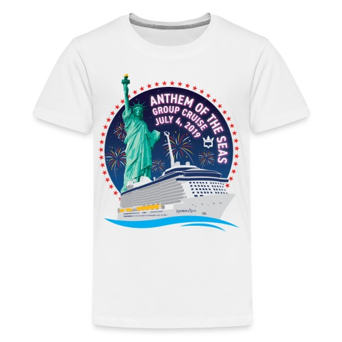 RCB Anthem of the Seas Lo - Kids' Premium T-Shirt