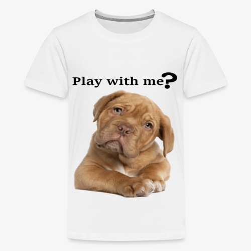 Play with me ? T-shirt cute - Kids' Premium T-Shirt