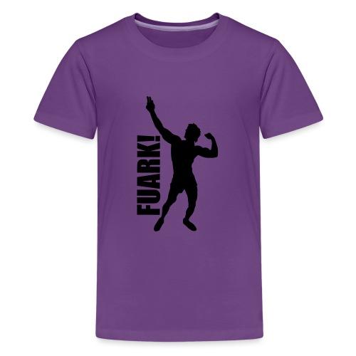 Zyzz Silhouette FUARK - Kids' Premium T-Shirt