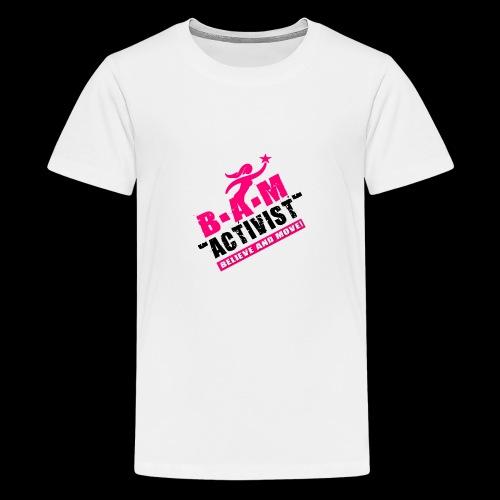 B.A.M. ACTIVIST - Kids' Premium T-Shirt