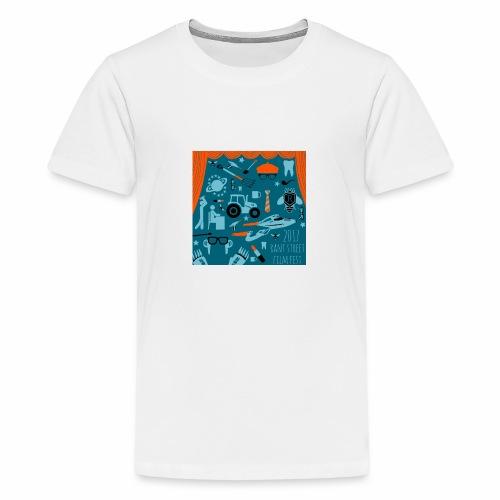 2017 Rant Street Film Fest - Kids' Premium T-Shirt