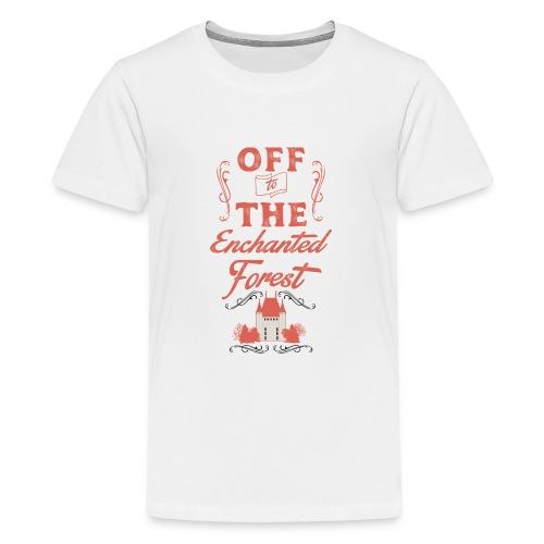 ENCHANTED FOREST RED RESI - Kids' Premium T-Shirt