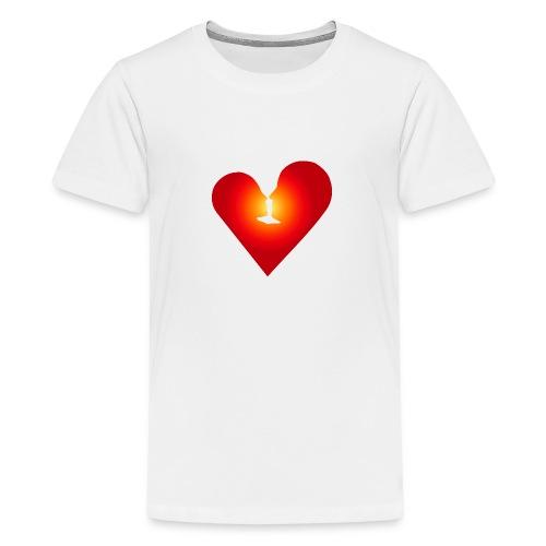 Loving heart - Kids' Premium T-Shirt