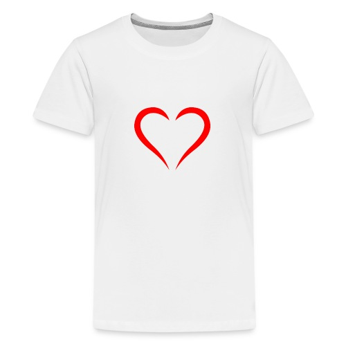 open heart - Kids' Premium T-Shirt