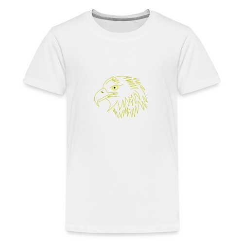 eagle head - Kids' Premium T-Shirt
