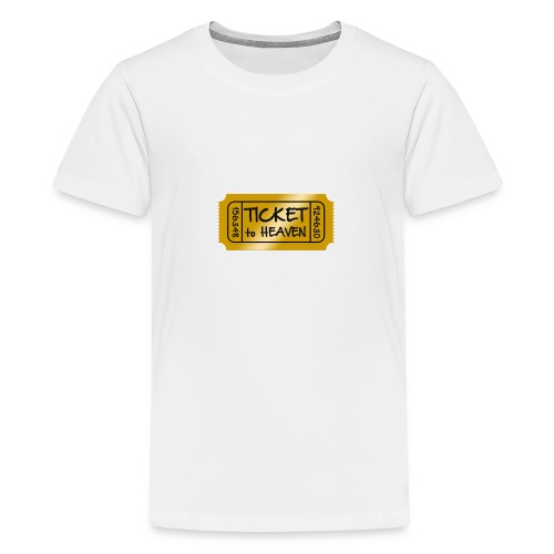 Ticket to heaven - Kids' Premium T-Shirt