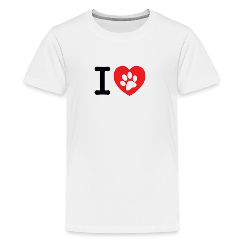 I LOVE DOG - Kids' Premium T-Shirt