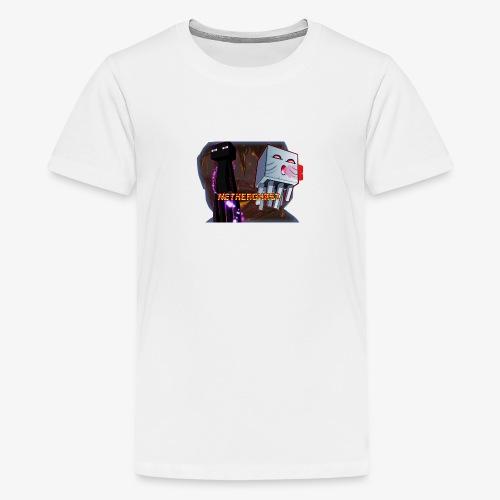NetherGhast Mascot - Kids' Premium T-Shirt