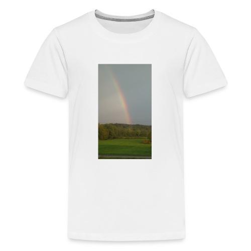Rainbow in the Mist - Kids' Premium T-Shirt