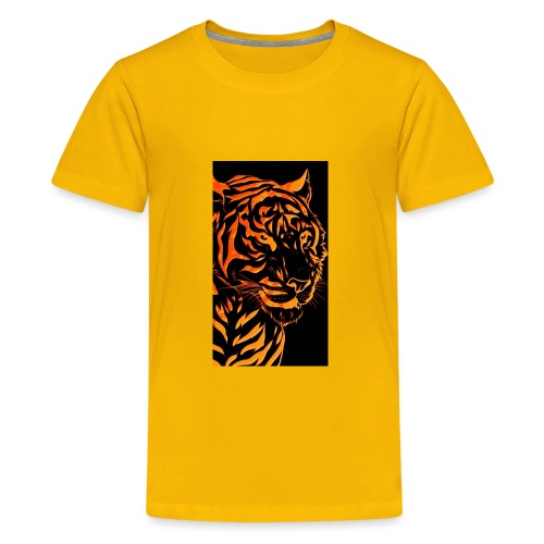 Fire tiger - Kids' Premium T-Shirt