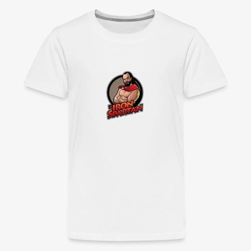 ISLOGONEWspreadshirt4000p - Kids' Premium T-Shirt