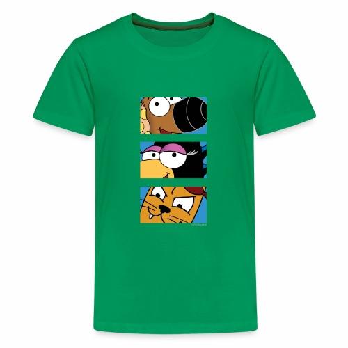 Rantdog Trio - Kids' Premium T-Shirt