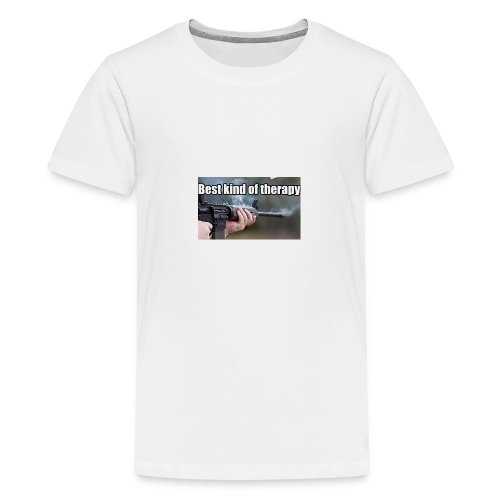 Best kind of therapy - Kids' Premium T-Shirt
